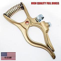 400 Amp Brass Welding Ground Clamp