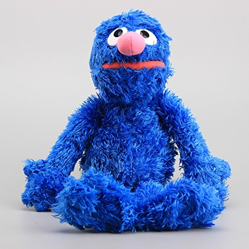 Sesame Street Grover 14 Inch Toddler Stuffed Plush Kids Toys
