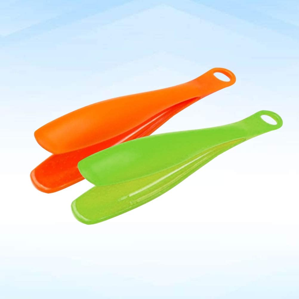 zuf/ällige Farbe Hemoton 2 st/ücke Kunststoff Lebensmittel Zange Servierzange Brot Kuchen Salat Zange Clamp K/üche Backen BBQ Lebensmittel Clamp