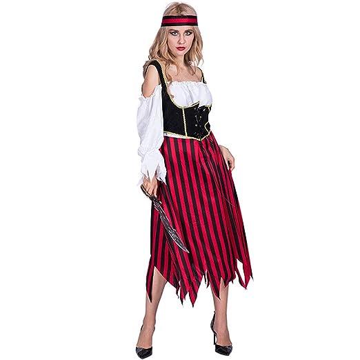 CAGYMJ Dress Party Ropa De Mujer,Disfraz Pirata Falda Corta ...