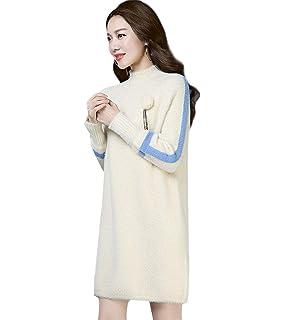 Skitor Mode Pull Dames Slim Robe Longue Chandail Ample Magnifique SpzGVUMq