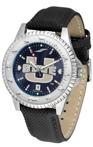 Linkswalker Mens Utah State University Aggies Competitor Anochrome Watch