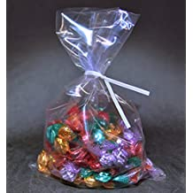 Royal Candy Dessert Pastry Party Bags Bread Loaf Packing Bags Pack of 100 with 100 Free Ties!