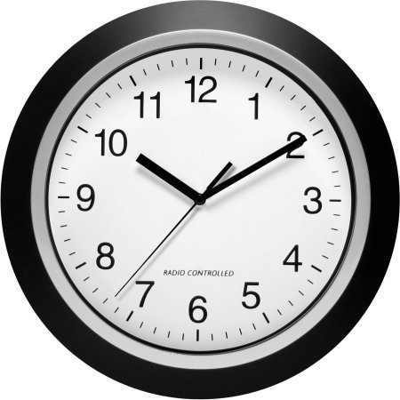 analog atomic wall clock