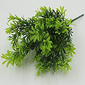 FYYDNZA New Arrival Artificial Garden Plants Green Leaf Shaped Stem False Plant 82