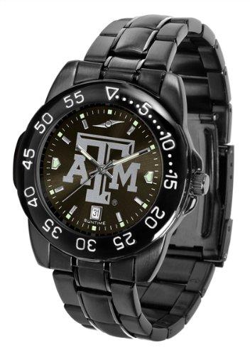 Texas A&m Wrist Watch - Linkswalker Mens Texas A&M Aggies Fantomsport Watch