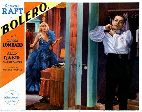 (Posterazzi Bolero from Left Carole Lombard George Raft 1934 Movie Masterprint Poster Print (14 x 11))