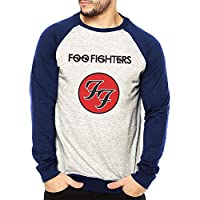 Moletom Raglan Masculino Mescla Banda Foo Fighters ES_106