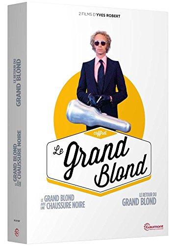 Coffret Le Grand Blond : Le Grand Blond avec une chaussure noire + Le Retour du Grand Blond 1ki3E8FbQ