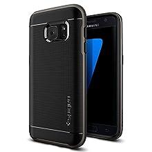 Spigen Neo Hybrid Designed for Samsung Galaxy S7 Case (2016) - Gunmetal