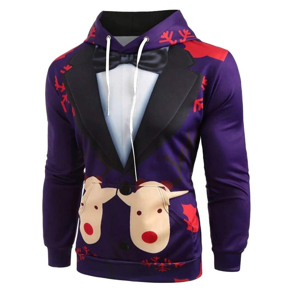 PowerFul-LOT Sweatshirt Pull Modèle de Costume Casquettes Sweat à Capuche Noël pour Hommes Sweat-Shirts à Capuche garçon Sweat fortnite PowerFul-LOT--Homme