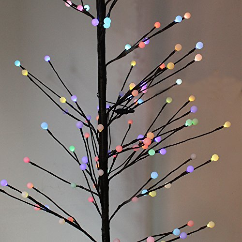 Outdoor Lighted Willow Tree - 8