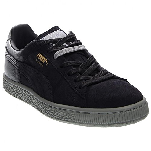PUMA Suede Classic + Blur Women's Sneaker 8 B(M) US Black-Glacier-White-Suede