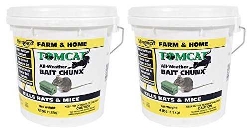 Tomcat All Weather Bait Chunx, 4 Lb (Pack of 2)