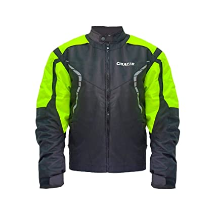 32628158319 CRUIZER – Cazadora Alta Visibilidad para moto scooter con protecciones  homologadas y cierre con cremallera XL