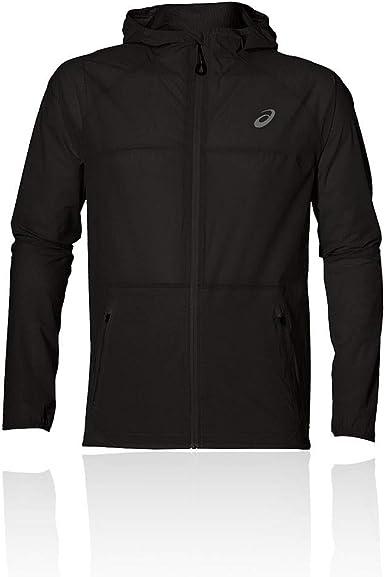 ASICS Men's Waterproof Waterproof Jacket Safety Yellow M