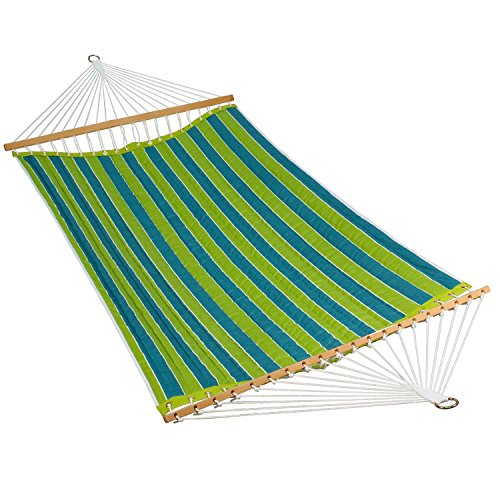 Algoma Net 11' Reversible Quilted Fabric Hammock -