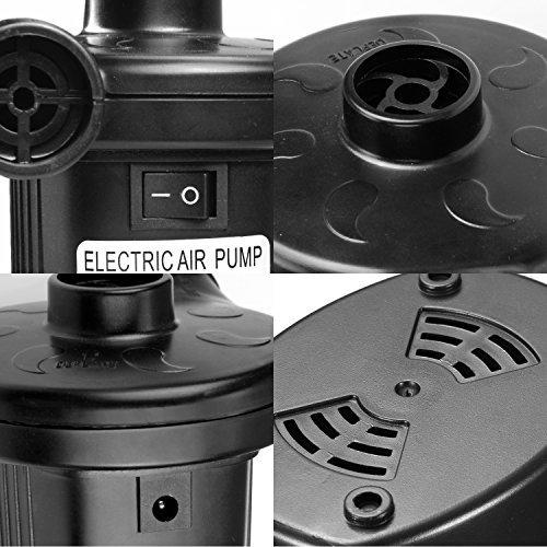 vitutech Bomba de aire eléctrico,220-240V 2 en 1 Eléctrico de la Bomba con 3 Accesorios con Hinchar y Deshinchar Electric Air Pump usado para el de ...