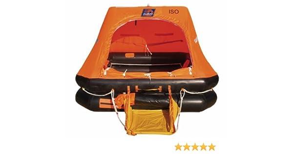 Balsa de rescate Europe ISO 9560/Maleta 8/personas con Grab Bag/ /arimar