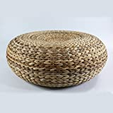 GRAS Dark colored rustic floor cushion/Floor pouf/Pouf ottoman/Wholesales Bulk/meditation cushion
