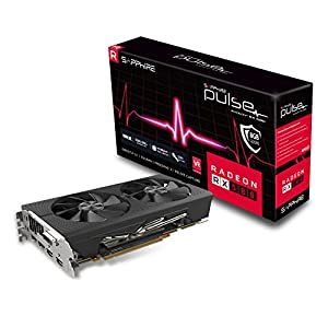 UEFI Sapphire Technology Technology Radeon 11276-02-40G Pulse RX Vega 56 8GB HBM2 HDMI// Triple DP PCI-E Graphics Card