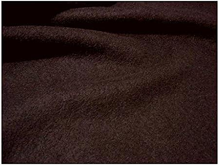 Clothing fabric Walkloden wool dark brown