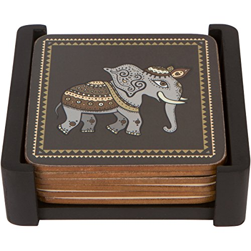 Planet Ethnic Elephant Designer coasters product image