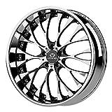 Lorenzo WL27 Chrome Wheel with Gloss Black Windows (20x8.5