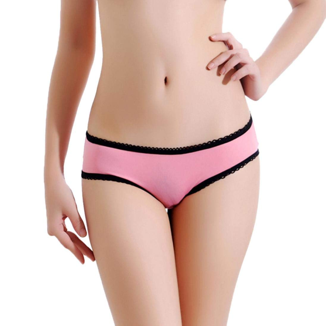 Sixcup Women Sexy Women s Open Crotch Cheeky Tong Panties Cut Out  Crotchless Hollow Bowknot Lace G-String Lingerie Underwear Seduction  Underpants Thong ... 79754e81a