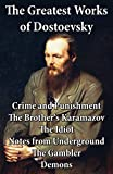 Front cover for the book Crime and Punishment by Fyodor Dostoyevsky