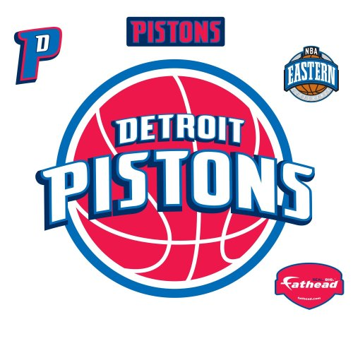 Wall Decal (Detroit Pistons Logo Wall Graphic)