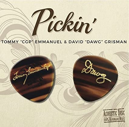 USA:  Tommy Emmanuel , David Grisman - Pickin' (2017)