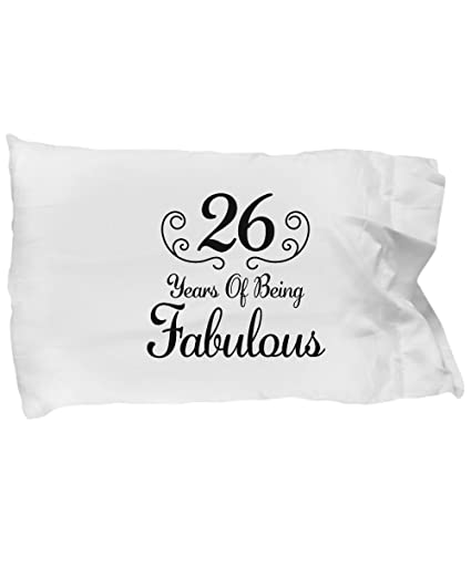 DesiDD 26th Birthday Gifts For Women Born In 1992 Pillow Case
