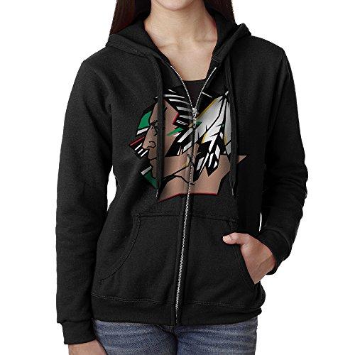 University Of North Dakota Fighting Sioux Women Full Zip ...