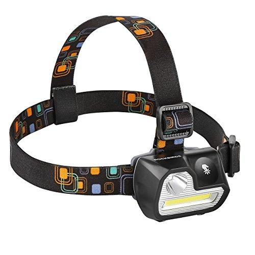 Headlamp, RockBirds H542 200Lumens 5 Modes LED ...