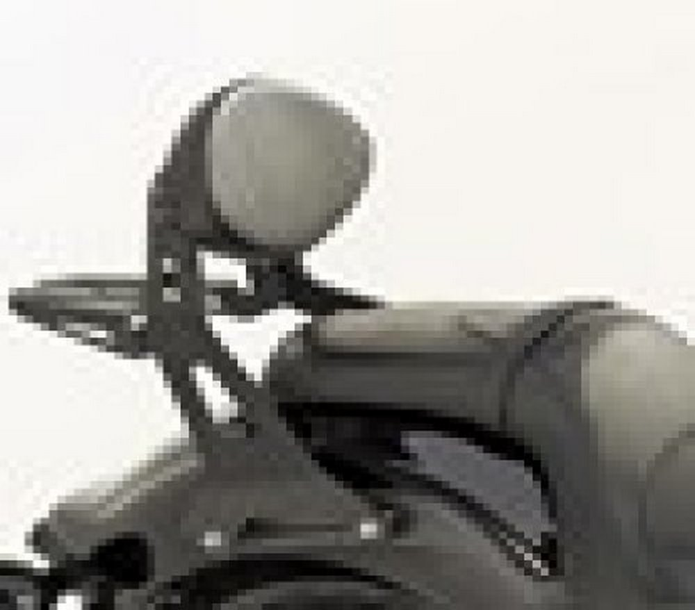 Yamaha 27D-F84A0-P1-00 Midnight Short Quick-Release Passenger Backrest by Yamaha (Image #1)