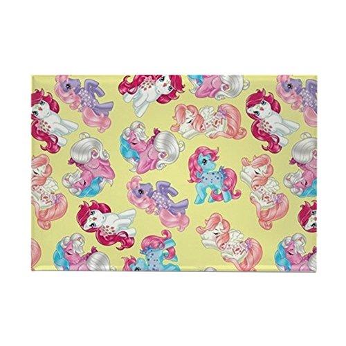 CafePress My Little Pony Retro Three Ponies Rectangle Magnet, 2