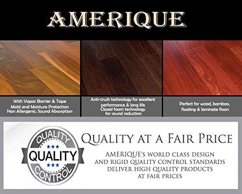 Amerique Laminate Flooring Underlayment Padding With Tape Vapor