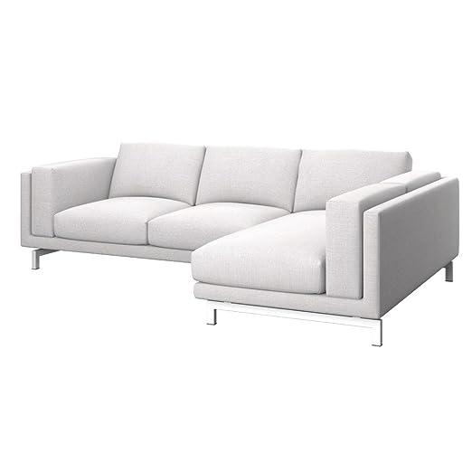Soferia - IKEA NOCKEBY Funda para sofá de 2 plazas, dcha ...