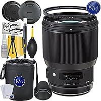 Sigma 85mm f/1.4 DG HSM Art Lens for Nikon F Mount + Essential Lens Bundle