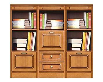 Credenza Bassa Con Cassetti : Arteferretto credenza libreria modulare bassa con 3 elementi dotata