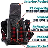 Athletico Ski Boot Bag – Skiing and Snowboarding