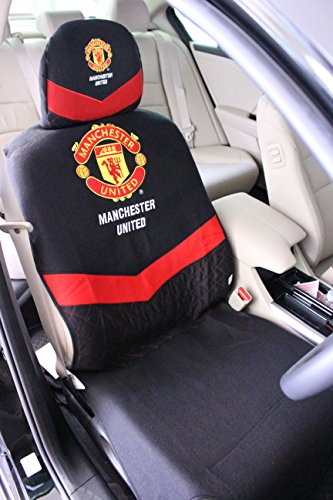 Official Manchester United Car Seat Cover (black edition)