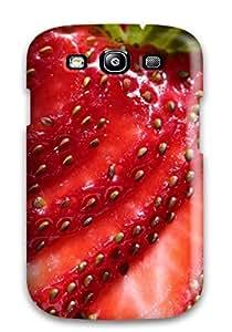 Galaxy S3 Food Berry Print High Quality Tpu Gel Frame Case Cover
