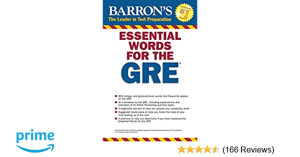 essential words for the gre barrons essential words for the gre