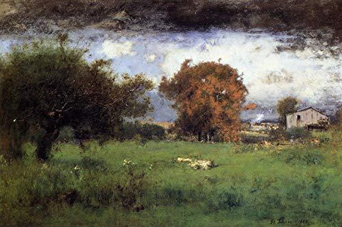 George Inness Early Autumn, Montclair 1888 Montclair Art Museum - Montclair, NJ 30