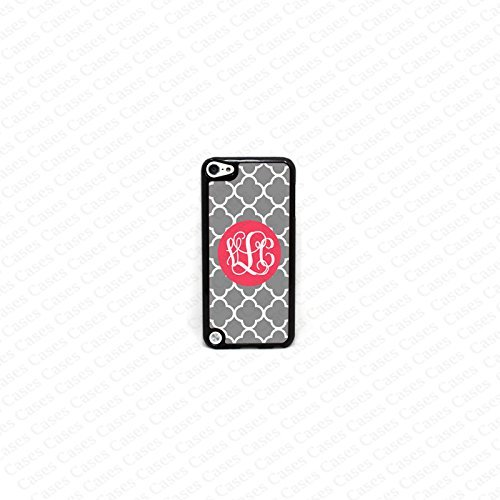 Krezy Case Monogram iPod Touch 5 Case, Pattern Monogram iPod 5 Case, Monogram iPod 5 case, iPod 5 Cover