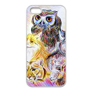 Animal Painting Bestselling Hot Seller High Quality Case Cove Hard Case For Iphone 5S