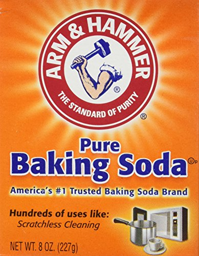 ARM & HAMMER Pure Baking Soda 8 oz (Pack of 6) (Non Gmo Soda Baking)