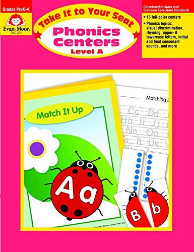 Take It to Your Seat Phonics Centers, Grades PreK-K